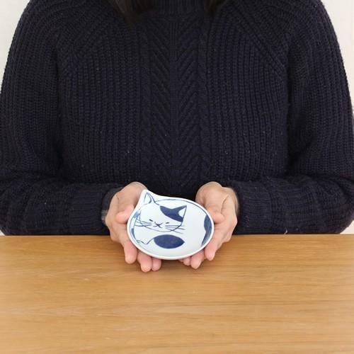 波佐見焼 coneco皿 小皿 豆皿 4枚 セット こねこざら 箱入り 猫皿 ねこ皿 取り皿 平皿 磁器 和食器 猫 皿 石丸陶芸 日本製|favoritestyle|03