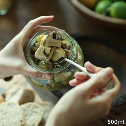 [5/30までポイント5倍] WECK キャニスター デコシェイプ 500ml DECO SHAPE ガラスキャニスター ウェック 保存容器 保存瓶 WE-901|favoritestyle|09