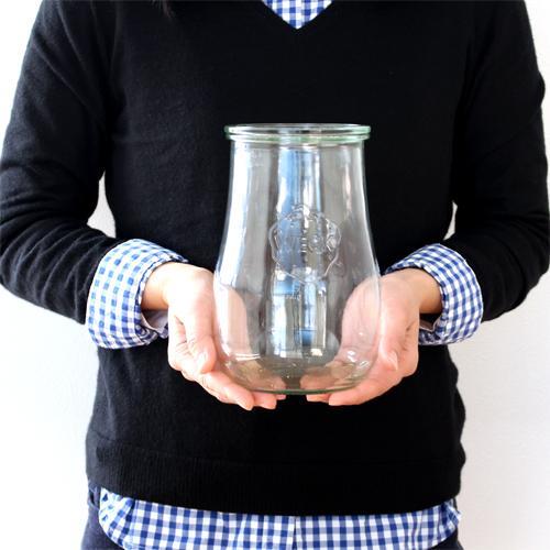 [5/30までポイント5倍] WECK キャニスター チューリップシェイプ 1500ml TULIP SHAPE ガラスキャニスター ウェック 保存容器 保存瓶 WE-738|favoritestyle|07
