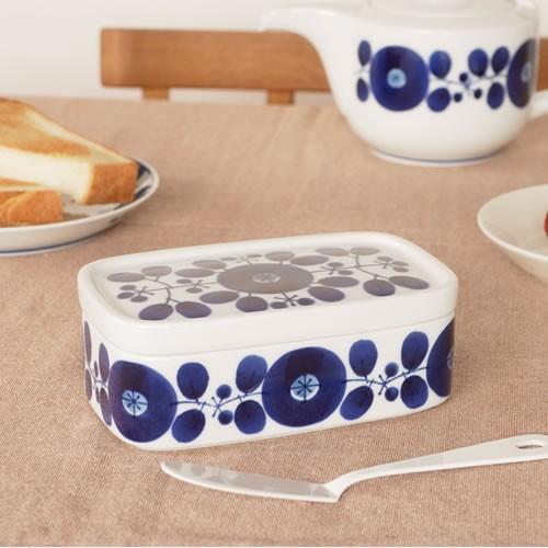 【取扱終了】白山陶器 ブルーム バターケース BLOOM 保存容器 波佐見焼 HAKUSAN HKSN-BLM-BC favoritestyle