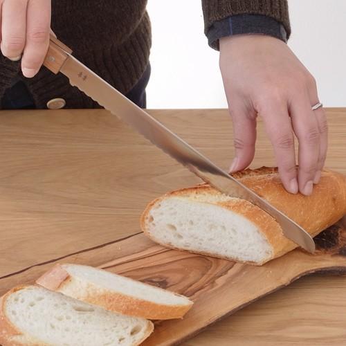 ブレッドナイフ パンナイフ パン切りナイフ morinoki 志津刃物製作所 パン切り包丁 パン用ナイフ 日本製 SM-4000|favoritestyle|02