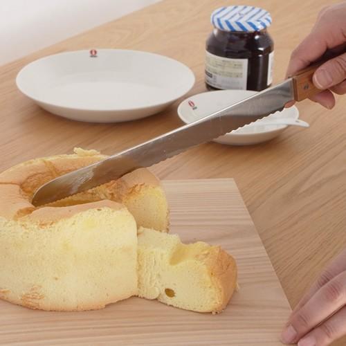 ブレッドナイフ パンナイフ パン切りナイフ morinoki 志津刃物製作所 パン切り包丁 パン用ナイフ 日本製 SM-4000|favoritestyle|06