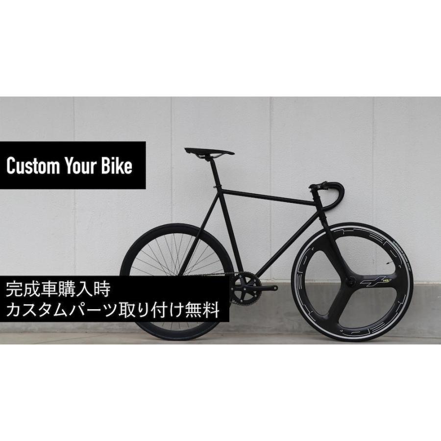 ピストバイク 完成車 LEADER BIKES リーダーバイク 735TR MAT BLACK ストリート シングル エアロフレーム カーボン アルミ 軽量 おしゃれ おすすめ カスタム|favus|12