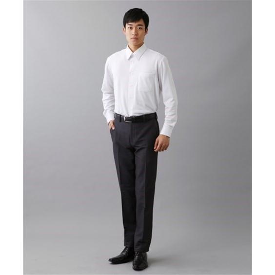 (特別価格) ノーアイロン長袖ストレッチiシャツ 伸びる ワイシャツ M-10L レギュラーカラー 大きいサイズ メンズ はるやま i-Shirt|faz-store|06