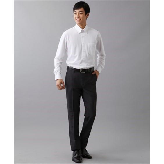 (特別価格) ノーアイロン長袖ストレッチiシャツ 伸びる ワイシャツ M-10L ボタンダウン 大きいサイズ メンズ はるやま i-Shirt アイシャツ faz-store 06