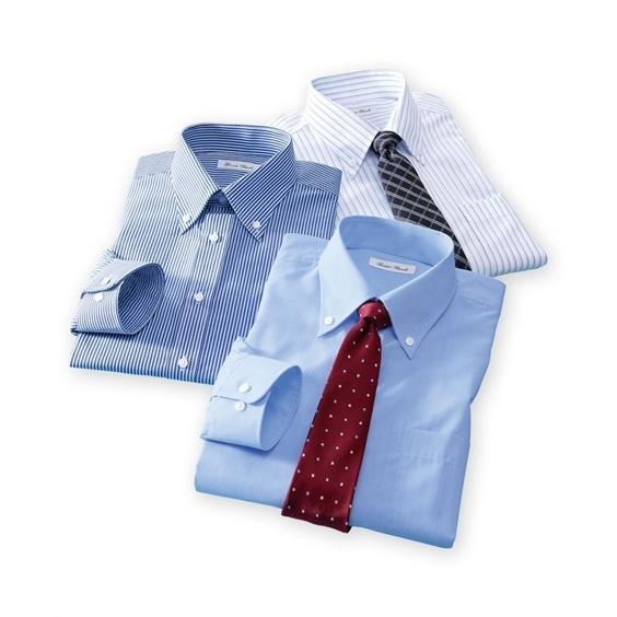 長袖ワイシャツ3枚セット メンズ M-8L ボタンダウン 抗菌防臭・形態安定長袖ワイシャツ3枚組 まとめ買いでお買い得! 大きいサイズ メンズ 送料無料 faz-store 08