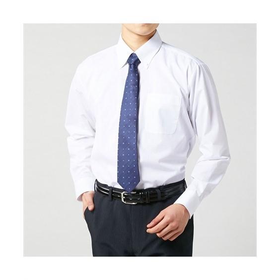 長袖ワイシャツ3枚セット メンズ M-8L ボタンダウン 抗菌防臭・形態安定長袖ワイシャツ3枚組 まとめ買いでお買い得! 大きいサイズ メンズ 送料無料|faz-store|03