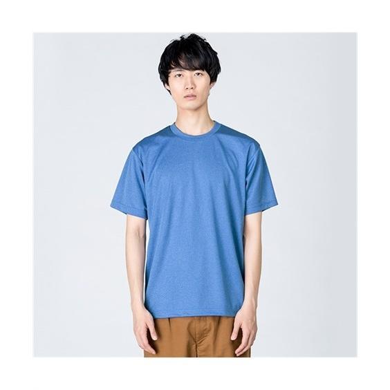 大きいサイズ メンズ クルーネックTシャツ S-5L 吸汗速乾・UVカット 裏面メッシュ半袖クルーネックTシャツ ニッセン faz-store 04