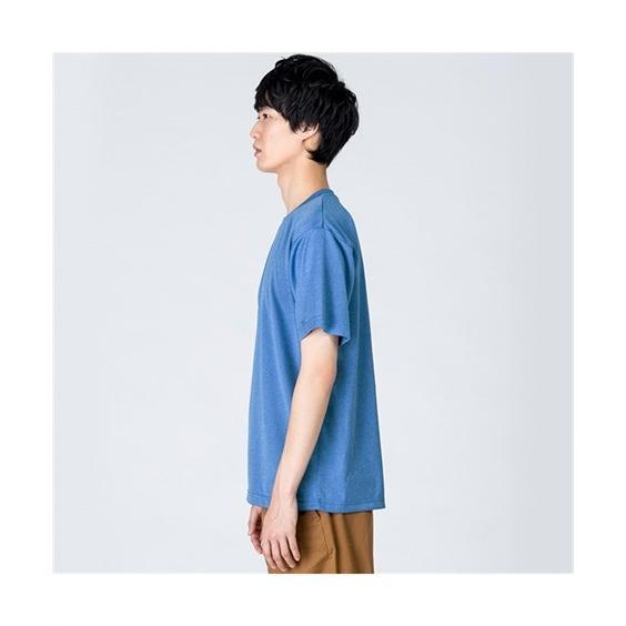 大きいサイズ メンズ クルーネックTシャツ S-5L 吸汗速乾・UVカット 裏面メッシュ半袖クルーネックTシャツ ニッセン faz-store 05