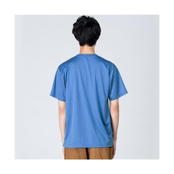 大きいサイズ メンズ クルーネックTシャツ S-5L 吸汗速乾・UVカット 裏面メッシュ半袖クルーネックTシャツ ニッセン faz-store 06