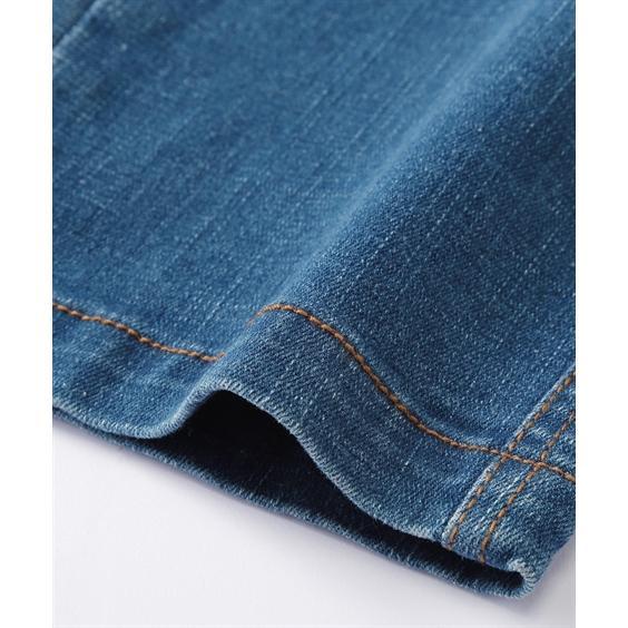 ストレッチ素材で動きやすい! 後ポケット合皮使いストレッチデニムパンツ メンズ M-10L 洗濯機で洗えるので汚れてもOK! 大きいサイズ メンズ ニッセン faz-store 03