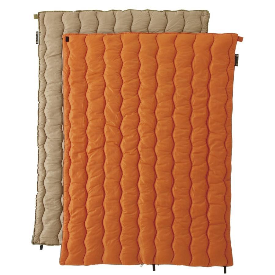 ロゴス 寝袋 2in1 Wサイズ丸洗い寝袋・2最低使用温度2度 72600680