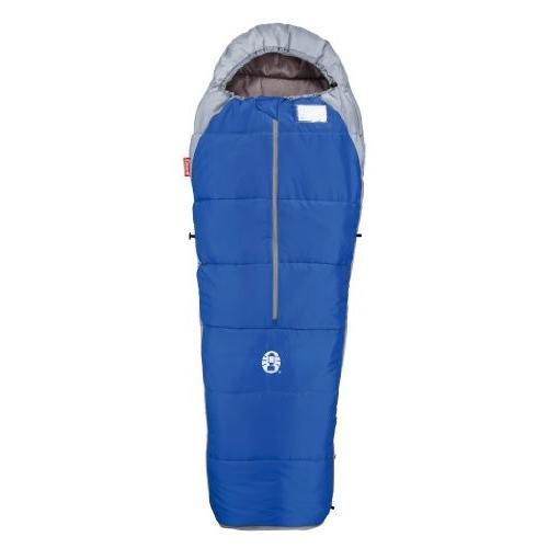 コールマン 寝袋 スクールマミー2/C10 ブルー 使用可能温度10度 2000010424