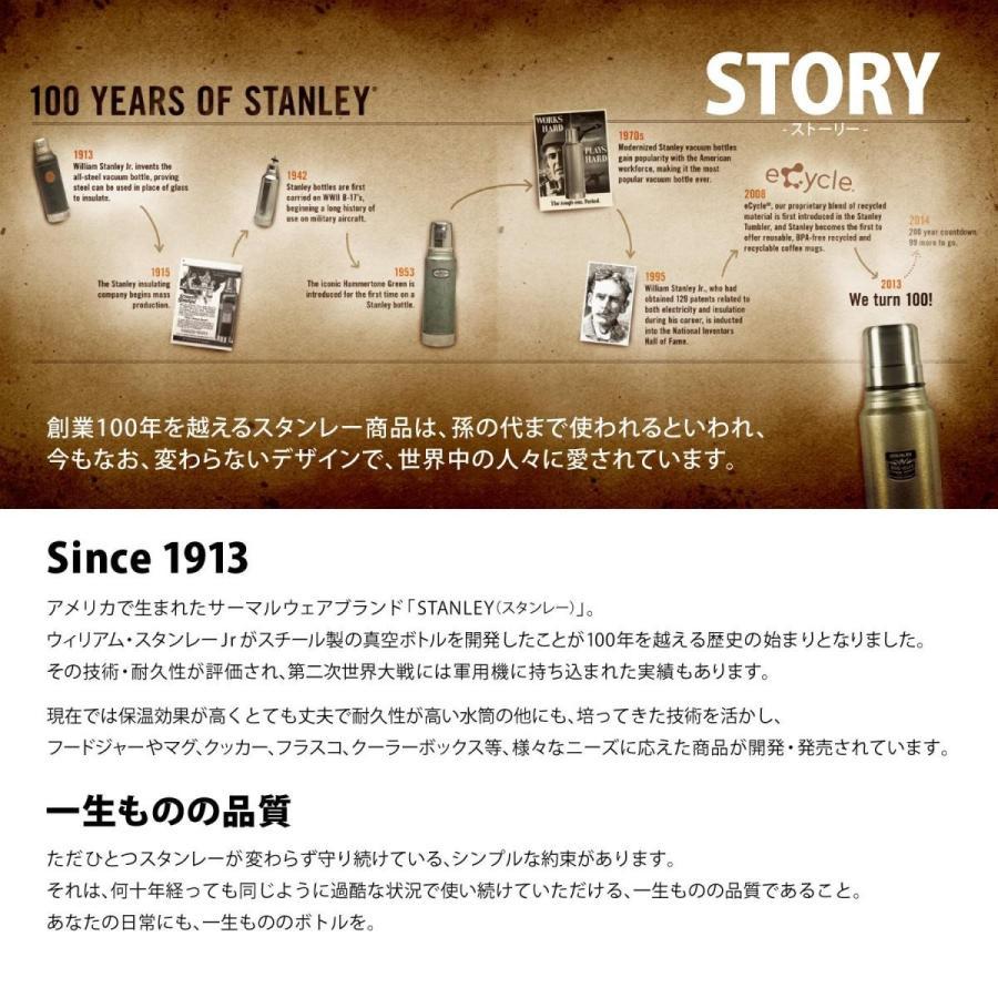 STANLEY(スタンレー) 新ロゴ クラシック真空ボトル 1.9L マットブラック 水筒 07934-010 (日本正規品)