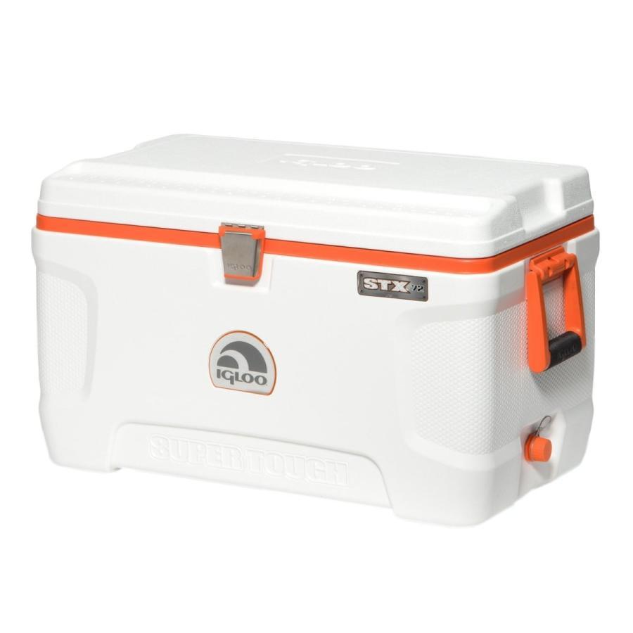 igloo(イグルー) スーパータフ 72 STX (68L) ホワイト/オレンジ #44950