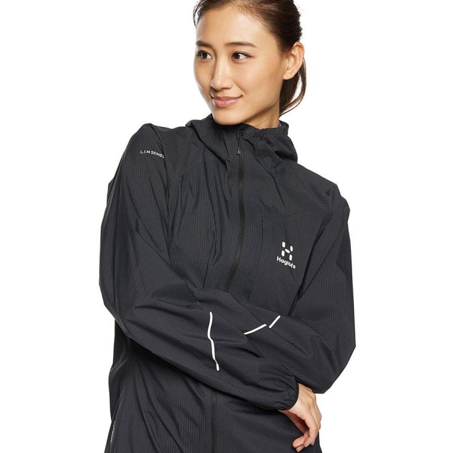 ホグロフス レインウェア L.I.M SERIES PROOF JACKET WOMEN リムシリーズプルーフジャケット TRUE BLAC