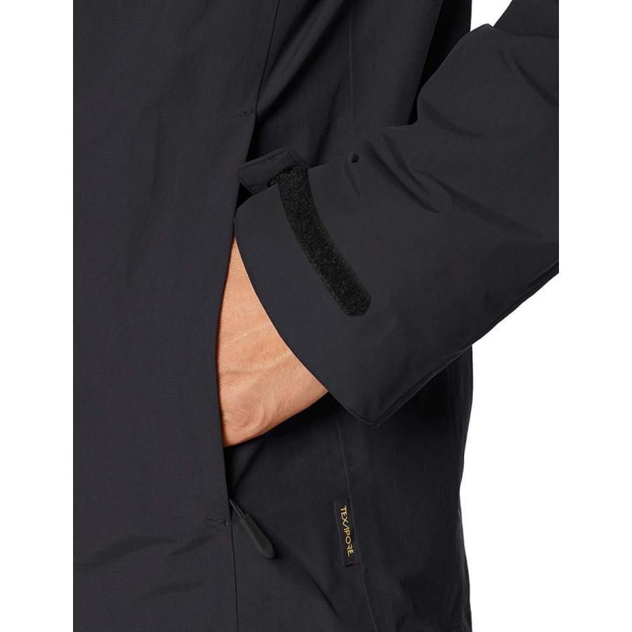 ジャックウルフスキン ゴットランド3イン1 M W1110721 メンズ ブラック EU L (日本サイズXL相当)