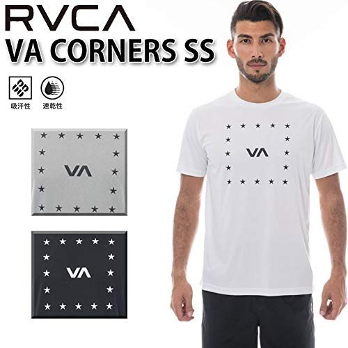 2019 RVCA ルーカ メンズ ラッシュガード Tシャツ VA CORNERS SS AJ041-851 半袖 海 プール サーフ (W