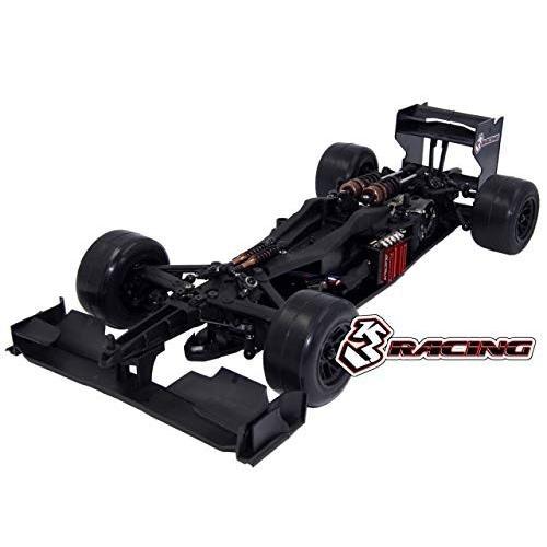 3レーシング KIT-FGX-EVO2018/CL FGX-EVO2018・1/10 スケール・フォーミュラーワンEPカーキット(透明ボディ