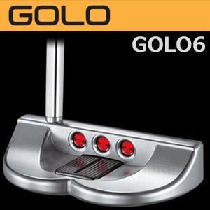 タイトリスト スコッティキャメロン GOLO GOLO6 パター(日本正規品/2015モデル)【マレットタイプ】