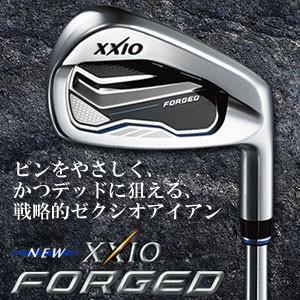 ダンロップ XXIO FORGED(ゼクシオ フォージド) アイアン6本セット(#5-9,PW) ゼクシオ MX6000 カーボンシャフト