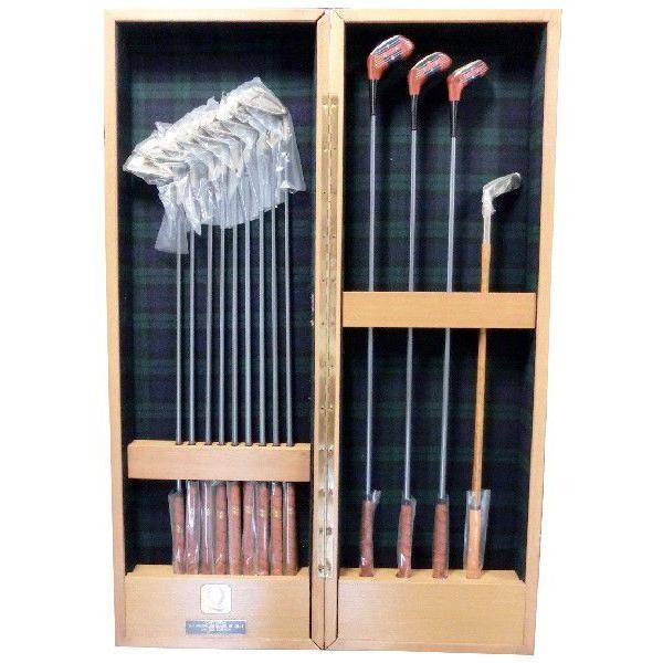 クイーンエリザベスのスクリューで造った ゴルフクラブ フルセット 化粧箱付