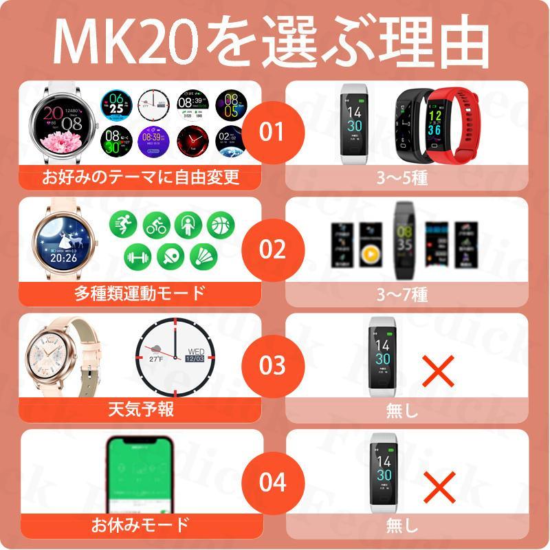 腕時計 レディース 店長イチオシ! ベルト スマートウォッチ 2021 日本語 説明書 血圧 正確 iphone Android 血中酸素濃度計 睡眠検測 歩数計 即納 1年保証|fedick|13