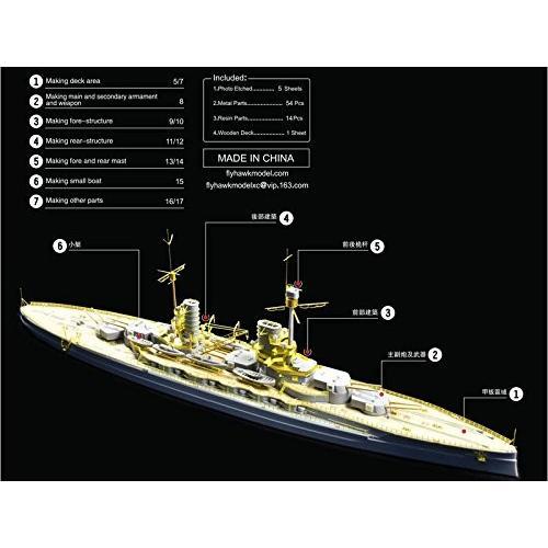 1/700 独海軍戦艦 ケーニッヒ ディティールセット