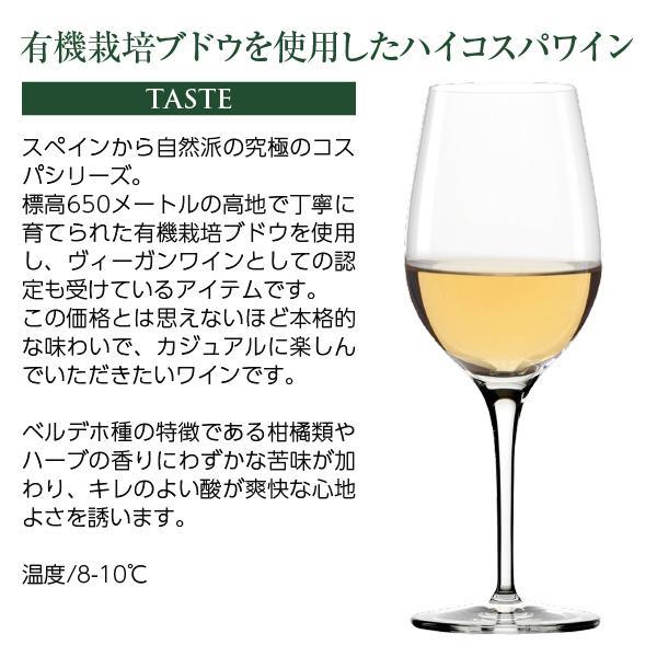 白ワイン スペイン デ ハーン アルテス エル コンベルティード ベルデホ オーガニックワイン 2019 750ml wine felicity-y 05