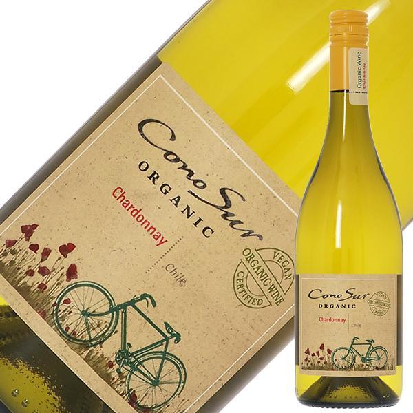 白ワイン チリ コノスル シャルドネ オーガニック 2019 750ml wine|felicity-y