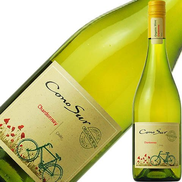 白ワイン チリ コノスル シャルドネ オーガニック 2020 750ml felicity-y