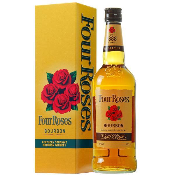 ポイント3倍 ウイスキー フォアローゼズ(フォアローゼス) イエロー 40度 正規 箱付 700ml 新ラベル バーボン 洋酒 felicity-y