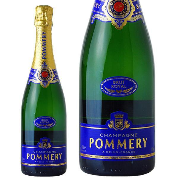 シャンパン フランス シャンパーニュ ポメリー ブリュット ロワイヤル 並行 750ml champagne|felicity-y