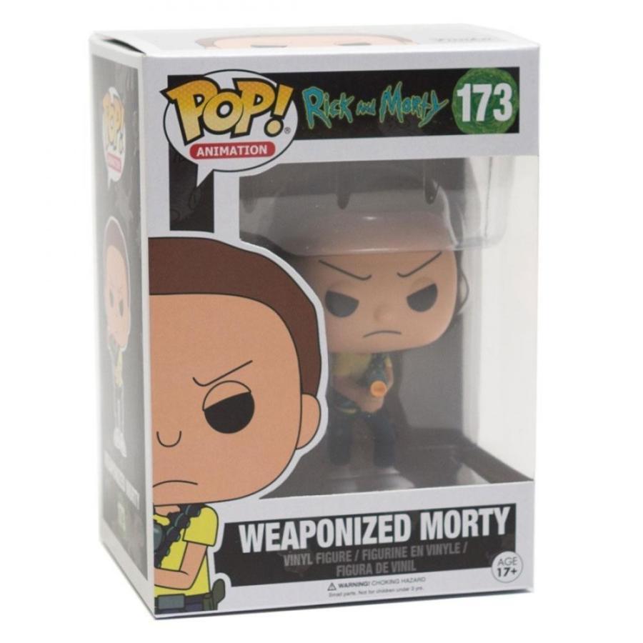 リック&モーティ Rick and Morty フィギュア pop animation rick and morty weaponized morty tan|fermart-hobby|03