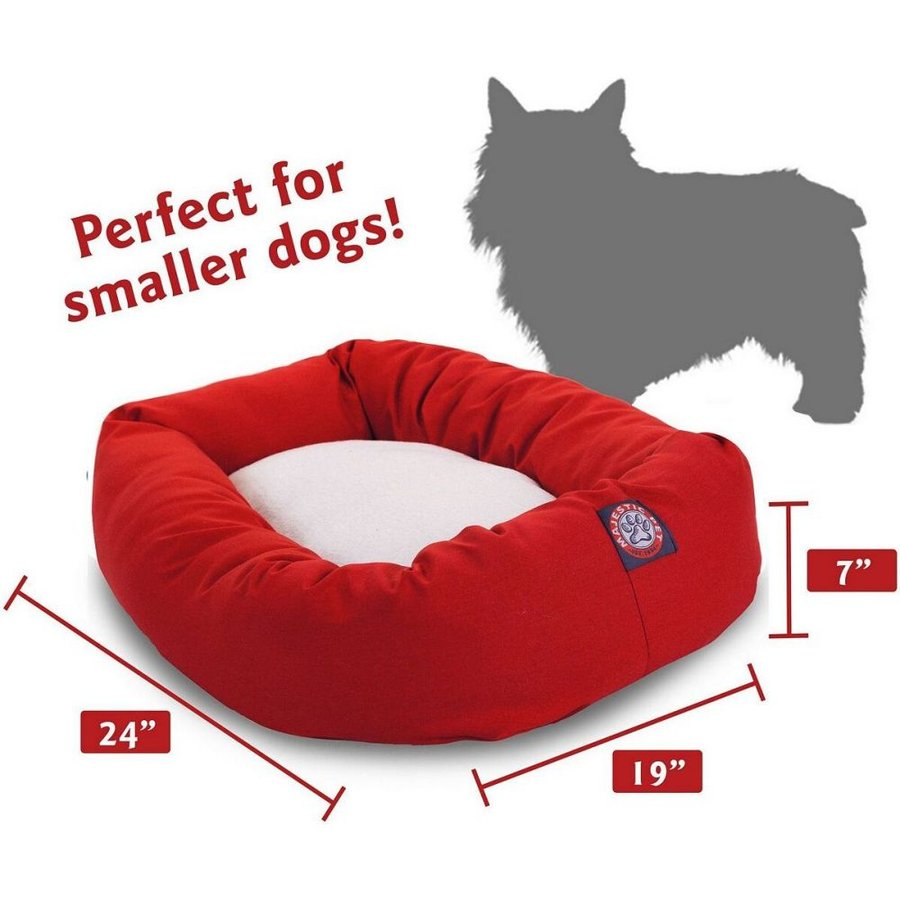 Majestic Pet マジェスティックペット ペットグッズ 犬用品 ベッド・マット・カバー ベッド Poly Cotton Sherpa Bagel Dog Bed|fermart-hobby|02