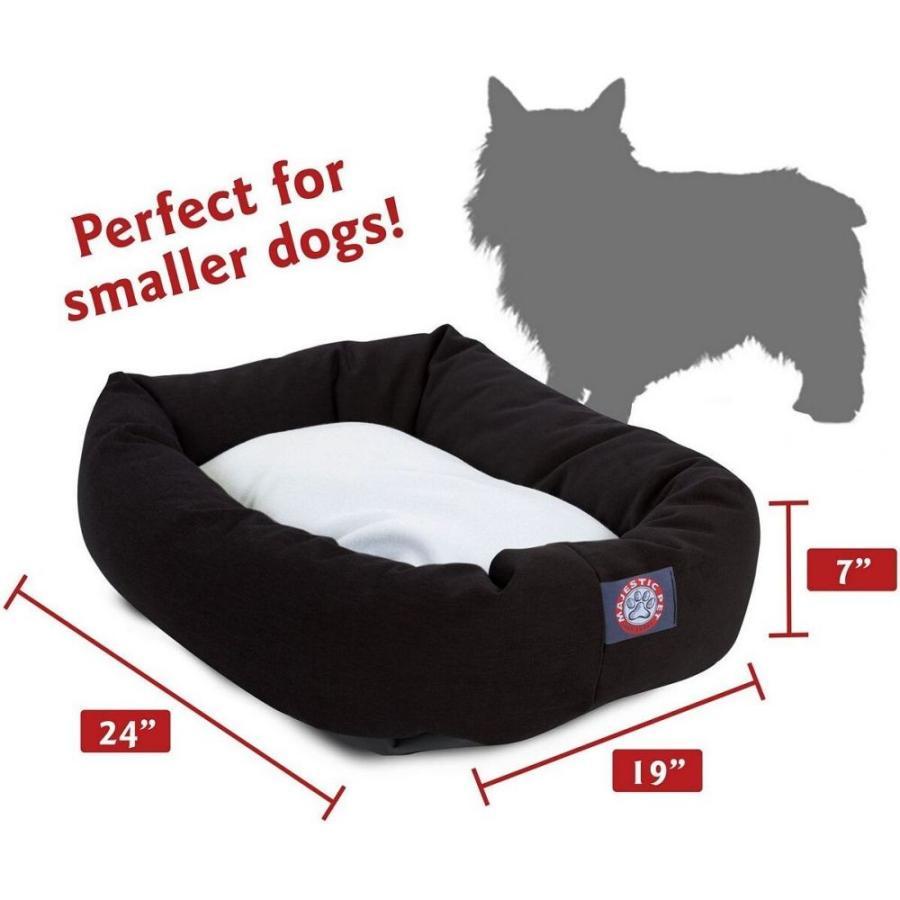 Majestic Pet マジェスティックペット ペットグッズ 犬用品 ベッド・マット・カバー ベッド Poly Cotton Sherpa Bagel Dog Bed|fermart-hobby|05