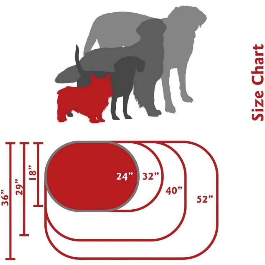 Majestic Pet マジェスティックペット ペットグッズ 犬用品 ベッド・マット・カバー ベッド Poly Cotton Sherpa Bagel Dog Bed|fermart-hobby|06