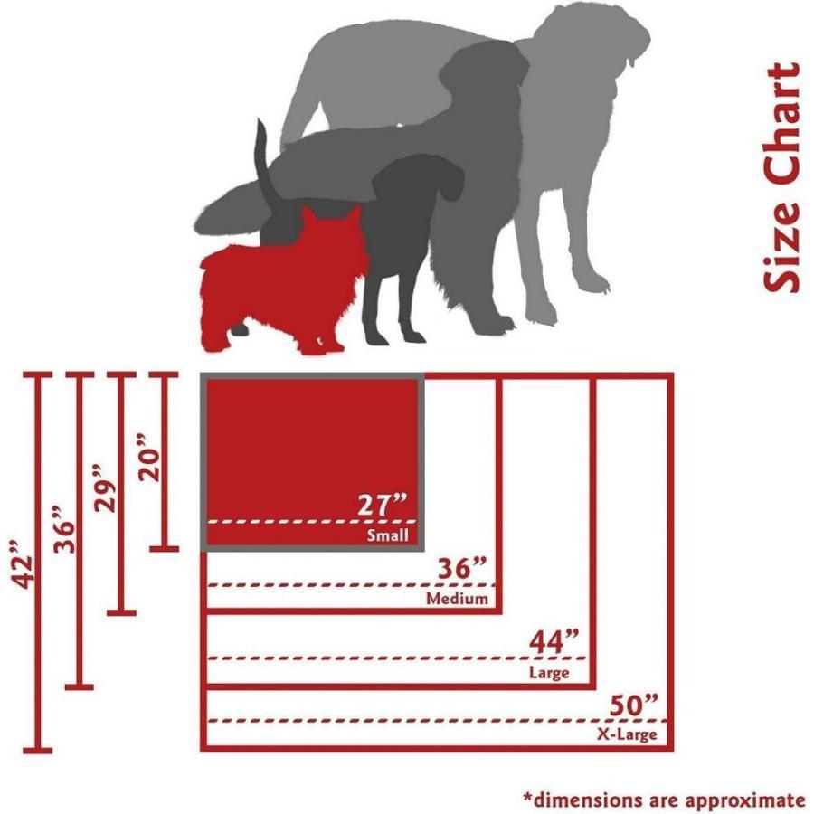 Majestic Pet マジェスティックペット ペットグッズ 犬用品 ベッド・マット・カバー ベッド Links Rectangle Dog Bed|fermart-hobby|04