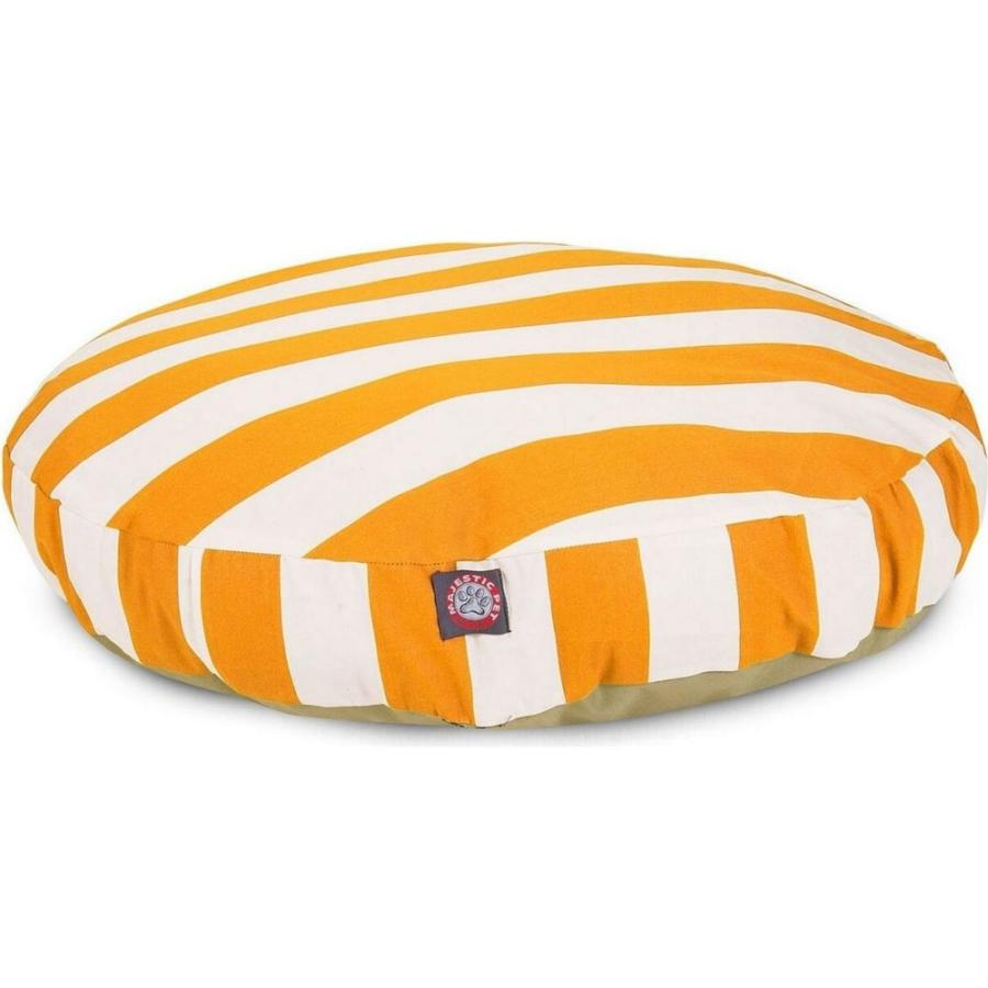 Majestic Pet マジェスティックペット ペットグッズ 犬用品 ベッド・マット・カバー ベッド Vertical Stripe Round Dog Bed|fermart-hobby
