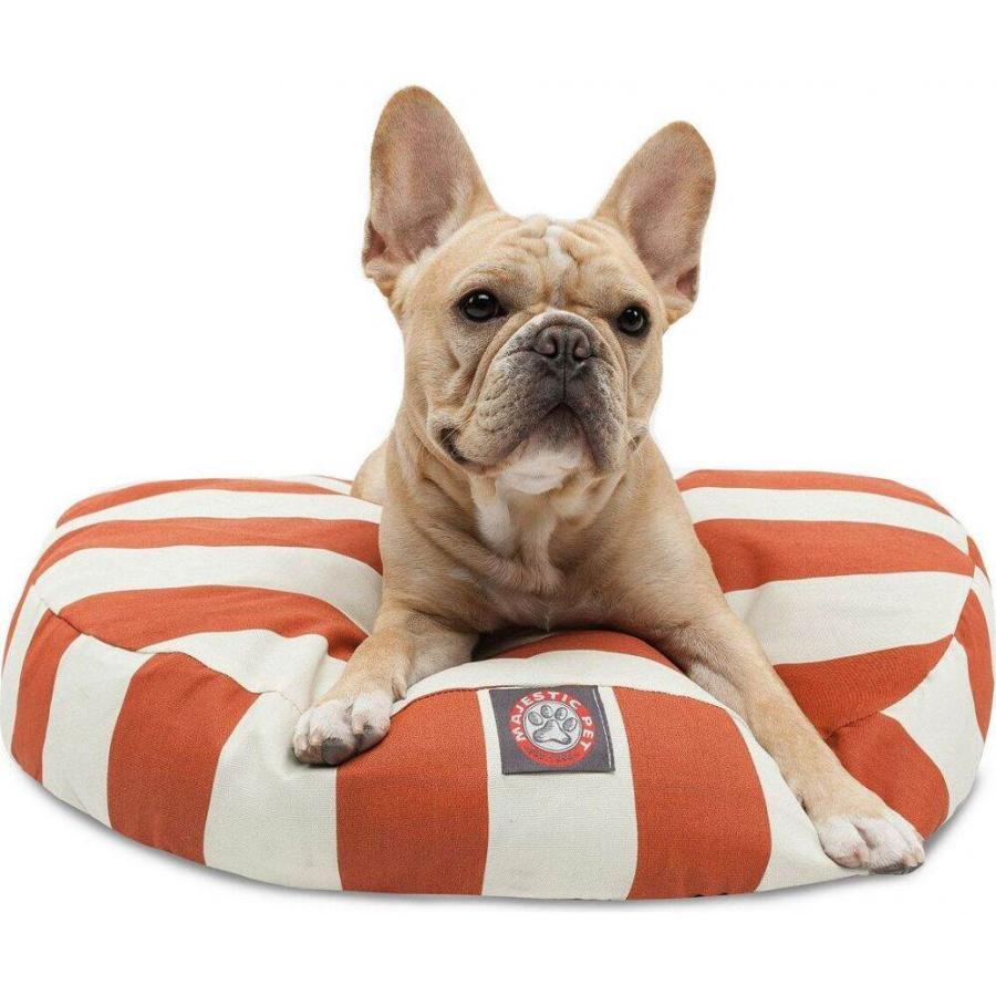 Majestic Pet マジェスティックペット ペットグッズ 犬用品 ベッド・マット・カバー ベッド Vertical Stripe Round Dog Bed|fermart-hobby|02