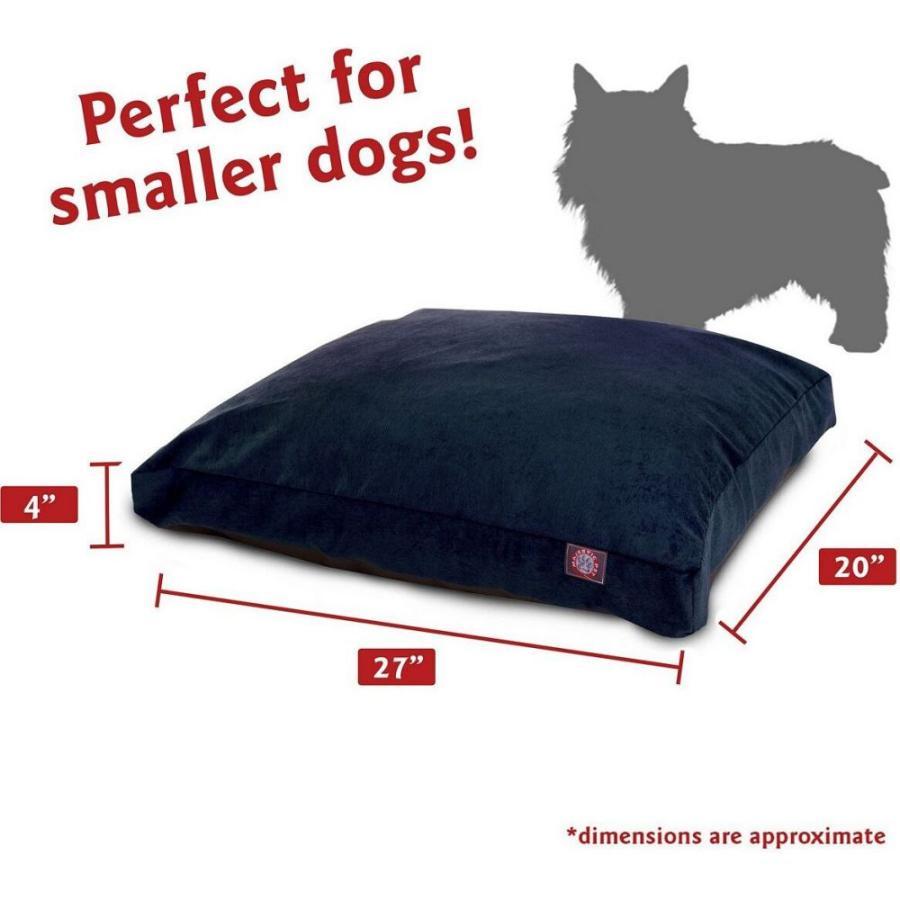 Majestic Pet マジェスティックペット ペットグッズ 犬用品 ベッド・マット・カバー ベッド Villa Micro-Velvet Rectangle Dog Bed|fermart-hobby|03