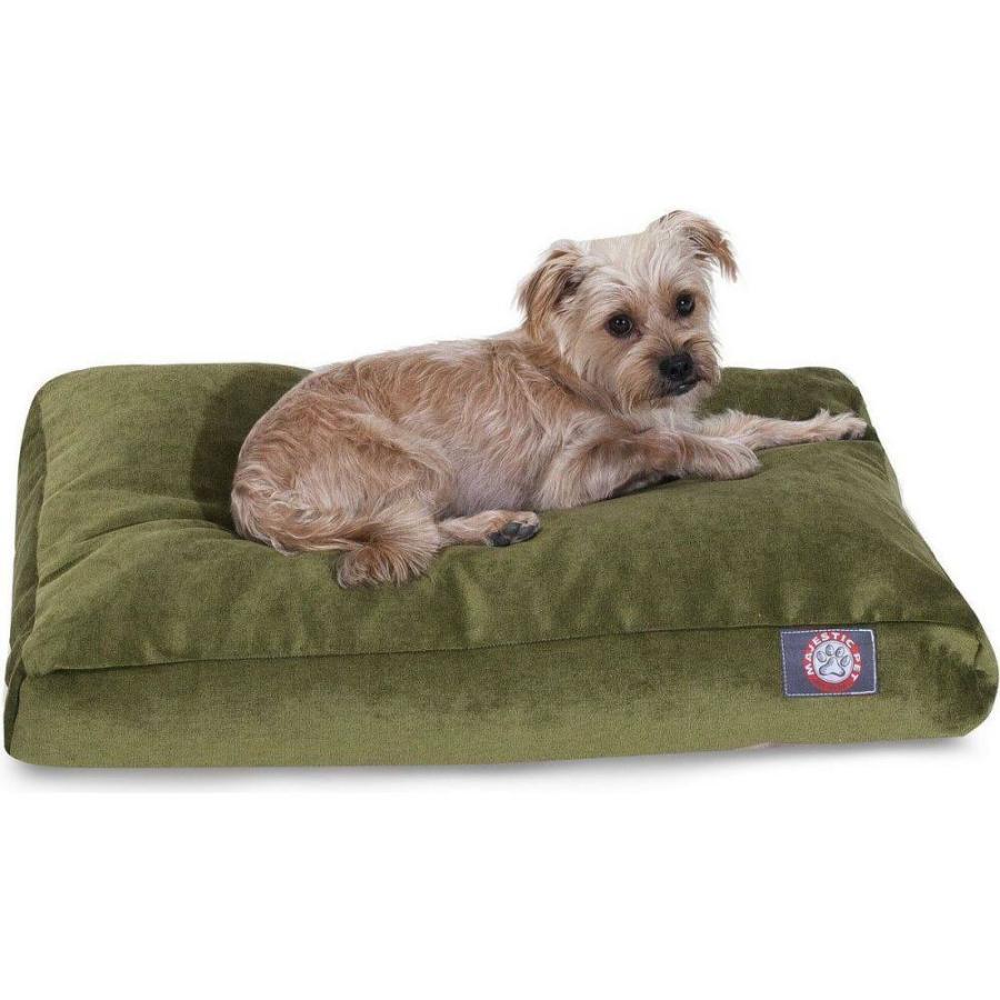 Majestic Pet マジェスティックペット ペットグッズ 犬用品 ベッド・マット・カバー ベッド Villa Micro-Velvet Rectangle Dog Bed|fermart-hobby|05