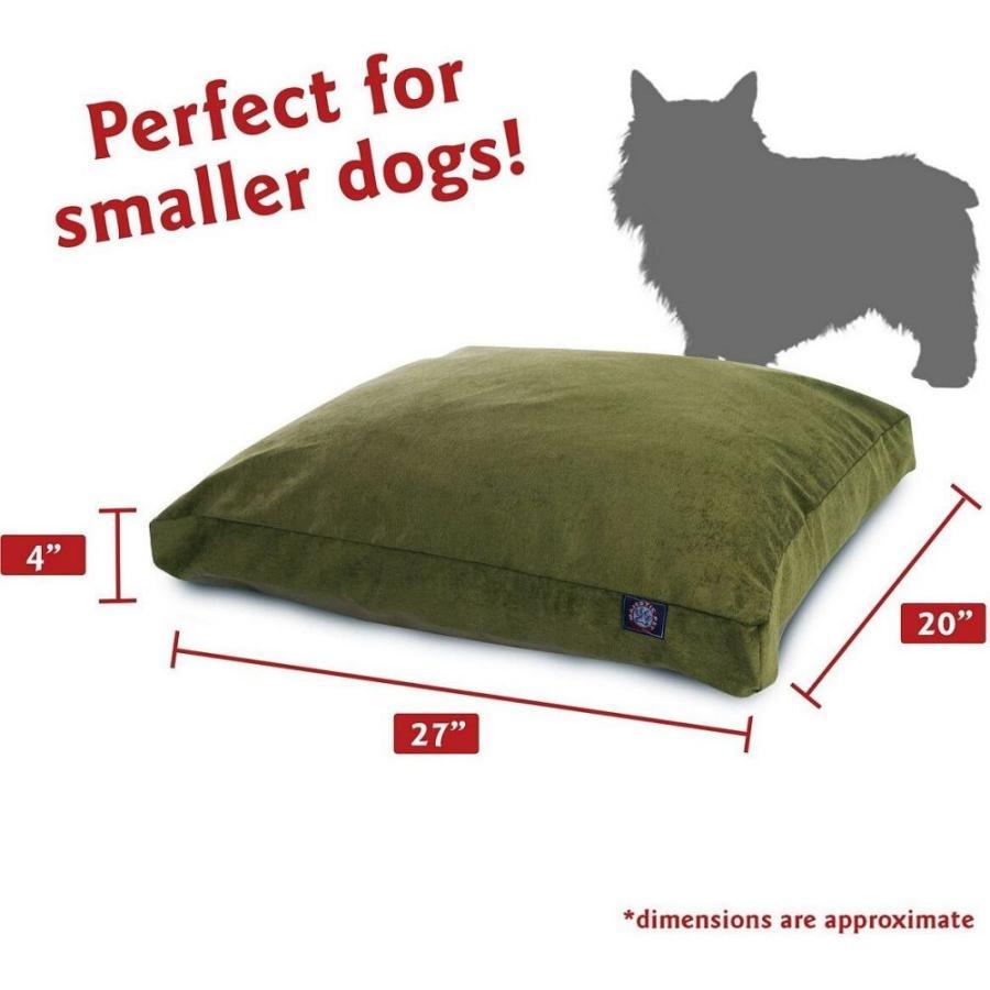 Majestic Pet マジェスティックペット ペットグッズ 犬用品 ベッド・マット・カバー ベッド Villa Micro-Velvet Rectangle Dog Bed|fermart-hobby|06