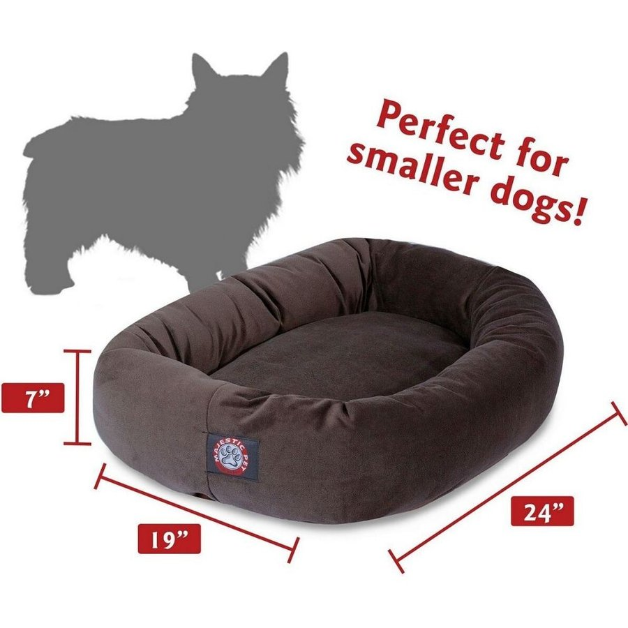 Majestic Pet マジェスティックペット ペットグッズ 犬用品 ベッド・マット・カバー ベッド Suede Bagel Dog Bed|fermart-hobby|03