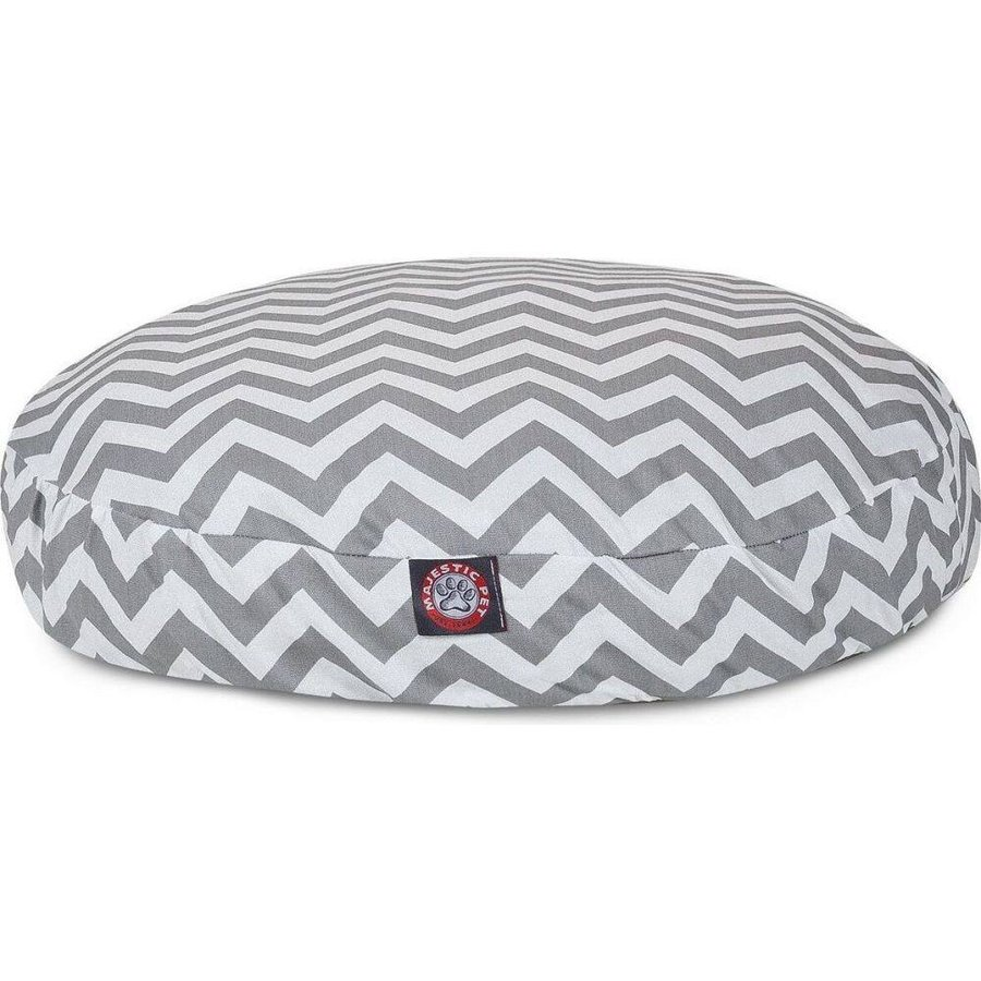 Majestic Pet マジェスティックペット ペットグッズ 犬用品 ベッド・マット・カバー ベッド Chevron Round Dog Bed fermart-hobby