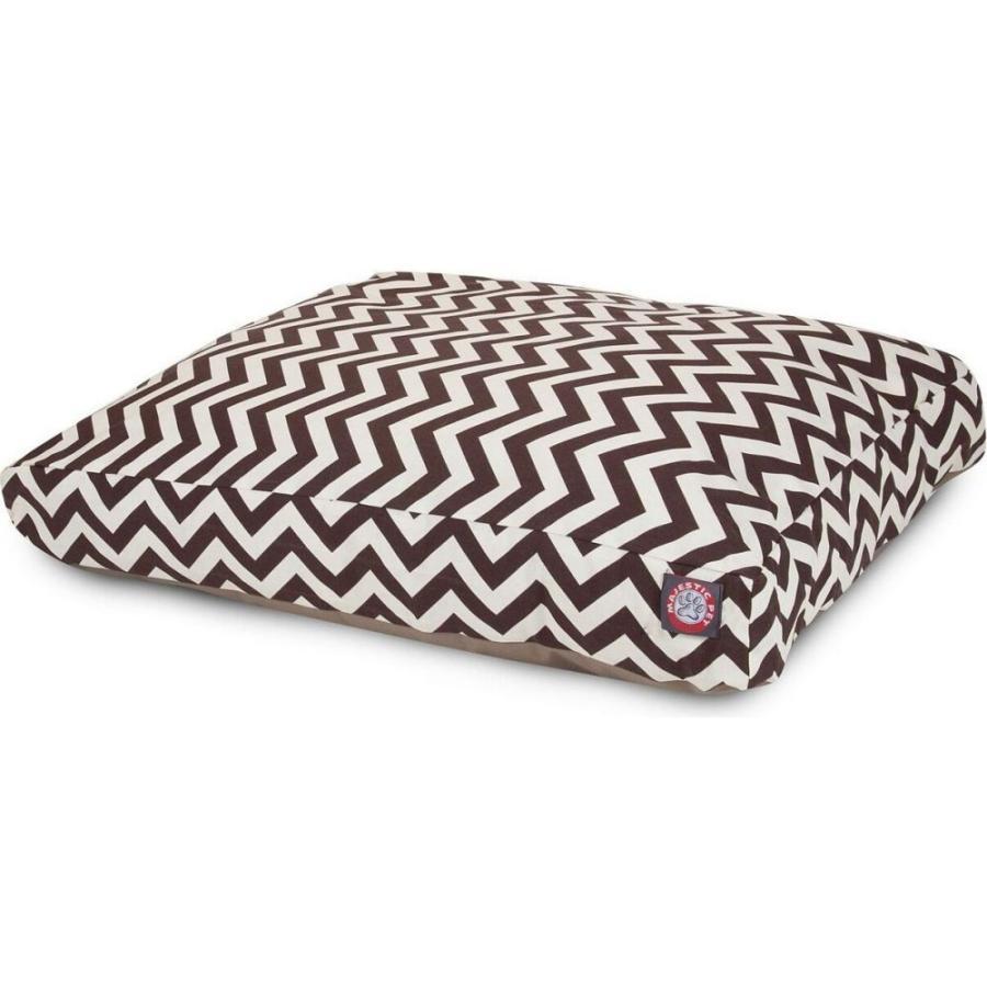 Majestic Pet マジェスティックペット ペットグッズ 犬用品 ベッド・マット・カバー ベッド Chevron Rectangle Dog Bed|fermart-hobby