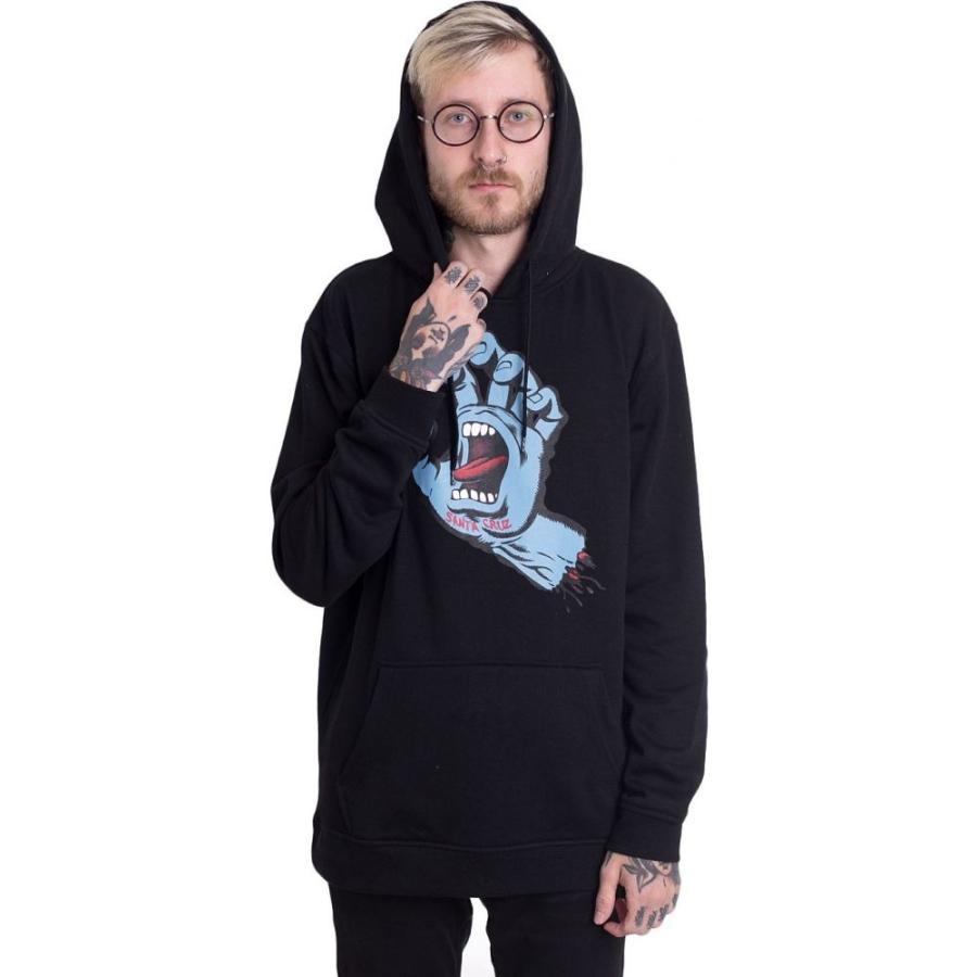 サンタクルーズ Santa Cruz メンズ パーカー トップス - Screaming Hand - Hoodie black|fermart-hobby|02