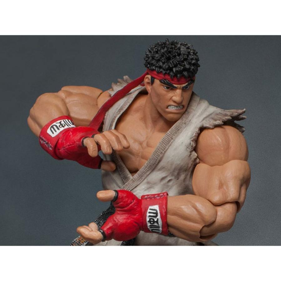 ストリートファイター STREET FIGHTER フィギュア street fighter v ryu 1/12 scale figure