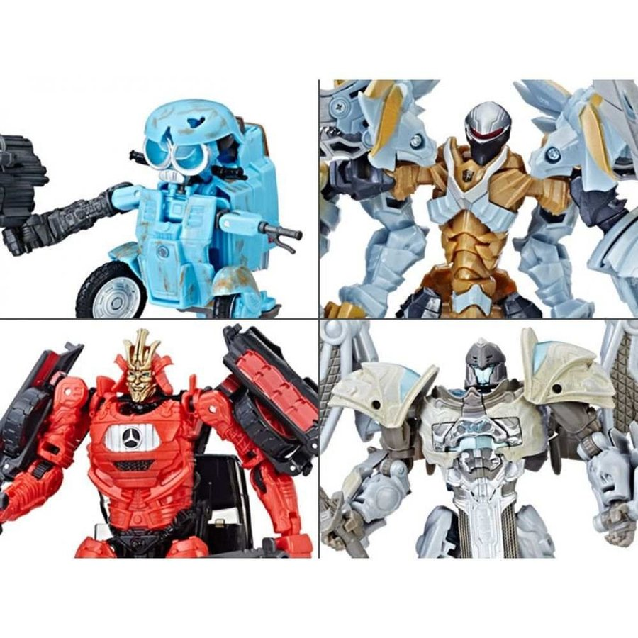 トランスフォーマー TRANSFORMERS おもちゃ・ホビー transformers: the last knight deluxe wave 2 set of 4