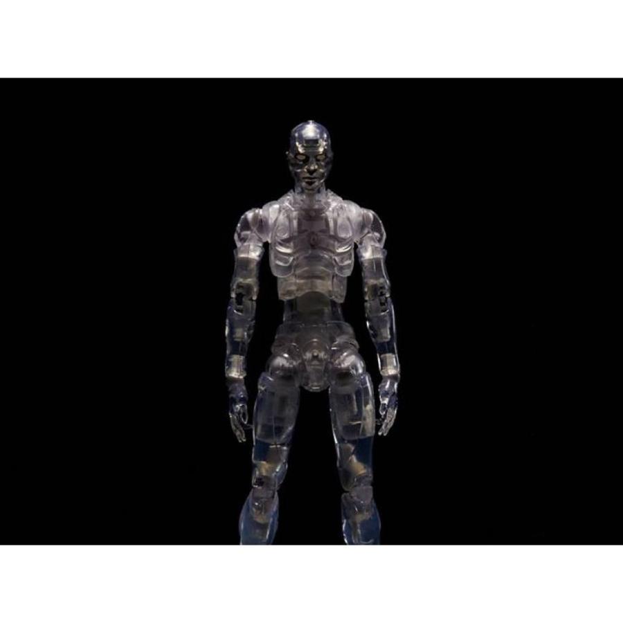1000トイズ 1000TOYS フィギュア TOA Heavy Industries Synthetic Human (Clear) 1/12 Scale Figure SDCC 2017 Exclusive